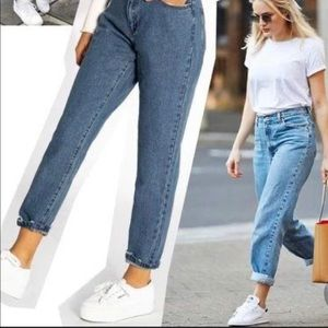 light blue 550 vintage relaxed fit tapered leg